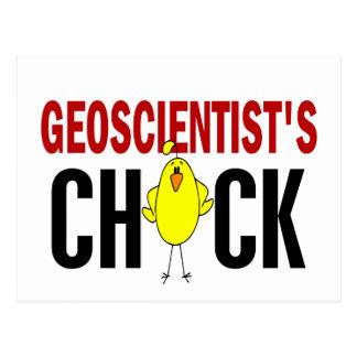 Geoscientist's Chick 1 Postcard