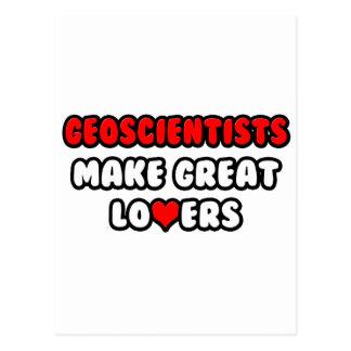 Geoscientists Make Great Lovers Postcard