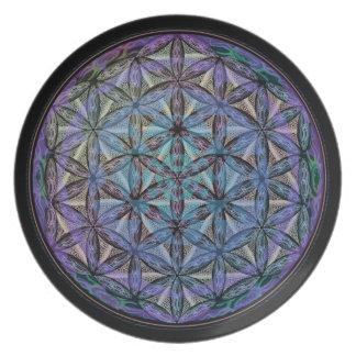 Geoshroom Party Plate