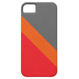 GEOSTRIPS amelocotonado Funda Para iPhone 5 Barely There