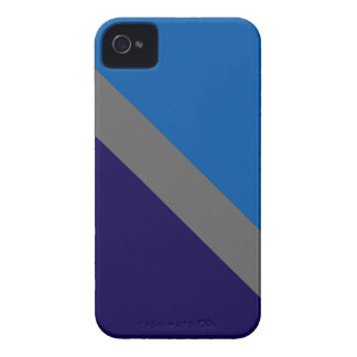 GEOSTRIPS Blue iPhone 4/4S Cover