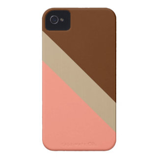GEOSTRIPS CHOCO ICE iPhone 4 COVER
