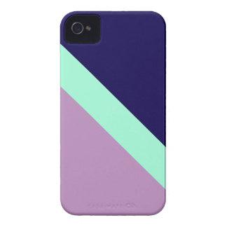 GEOSTRIPS PLUM Case-Mate iPhone 4 CASES