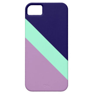 GEOSTRIPS PLUM iPhone 5 COVER