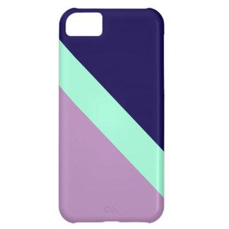 GEOSTRIPS PLUM iPhone 5C CASES