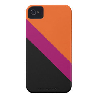 GEOSTRIPS PUMPKIN GLAZE iPhone 4 Case-Mate CASE