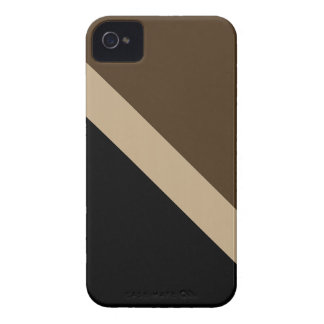 GEOSTRIPS TOFFEE iPhone 4 COVER