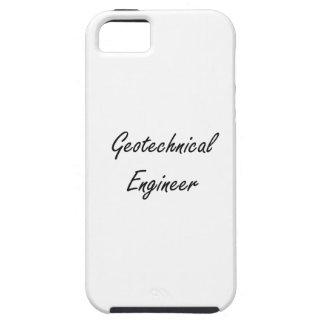 Geotechnical Engineer Artistic Job Design iPhone 5 Cover