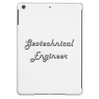 Geotechnical Engineer Classic Job Design iPad Air Cases