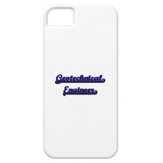 Geotechnical Engineer Classic Job Design iPhone 5 Cases
