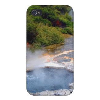 Geothermal Activity near Rotorua, New Zealand Case For iPhone 4