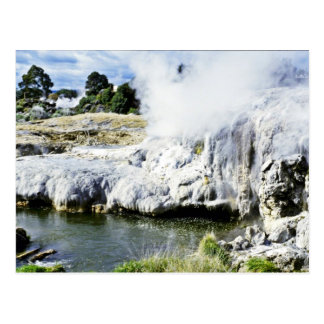 Geothermal Activity, Rotorua, North Island Postcard