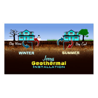 Geothermal Business Cards
