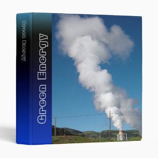 Geothermal instalations binder