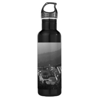 Geothermal instalations stainless steel water bottle