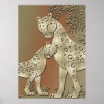 gepard - cheetha posters