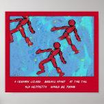 Gepetto's Reprise Tanka Art Print