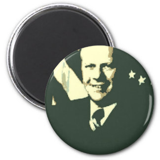 Gerald Ford 2 Inch Round Magnet