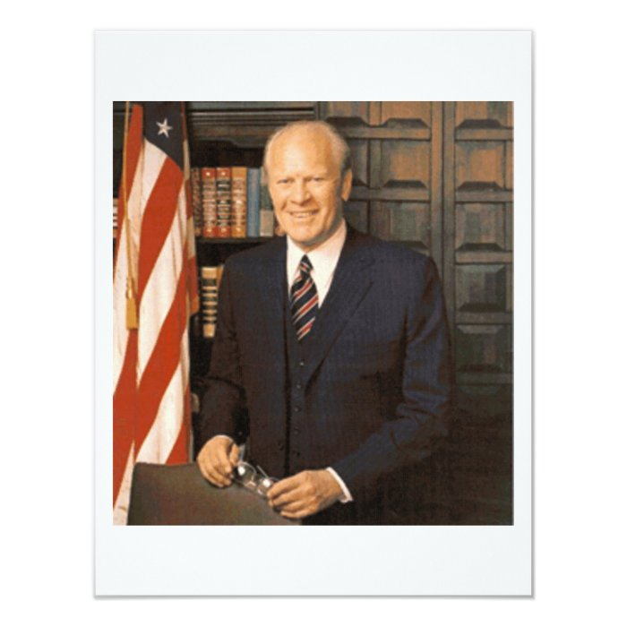 Gerald Ford Card