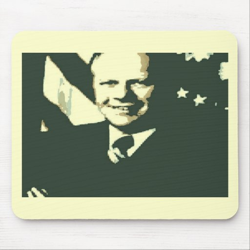 Gerald Ford Mouse Pads