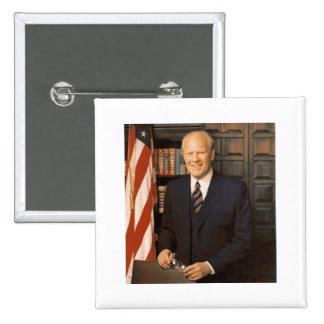 Gerald Ford Pin Cuadrada 5 Cm