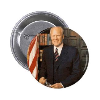 Gerald Ford Pin Redondo 5 Cm