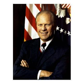 Gerald Ford Tarjeta Postal