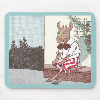 Gerald Giraffe Takes a Rest Mouse Pad