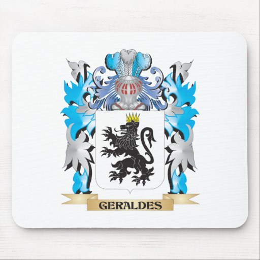 Geraldes Coat of Arms - Family Crest Mousepad