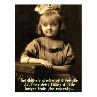 Geraldine's Dream Postcard