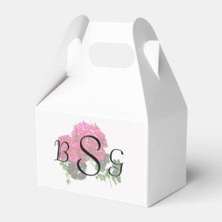 Geranios agraciados que casan productos cajas para detalles de boda