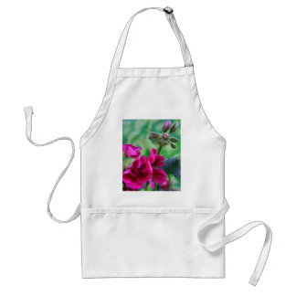 Geranium Bloom Adult Apron
