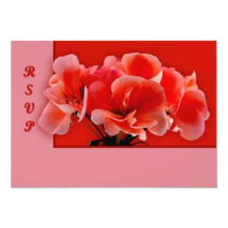Geranium Card
