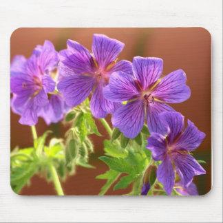 Geranium Flower Mousepad