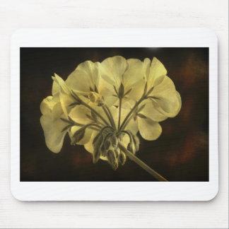 Geranium Flower Texture Mouse Pad