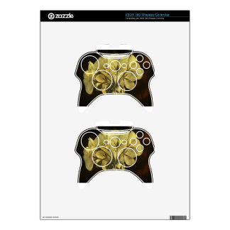 Geranium Flower Texture Xbox 360 Controller Skin
