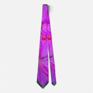 Geranium Flowers 2016 Tie