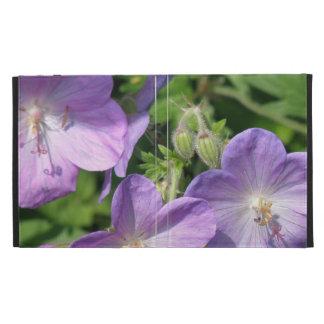 Geranium Flowers iPad Folio Cases