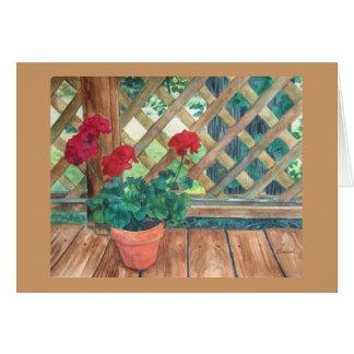 Geranium (Gardener's) Cards