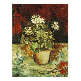 Geranium in a Flowerpot, Vincent van Gogh Postcard