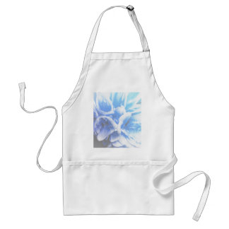 geranium  in the garden adult apron