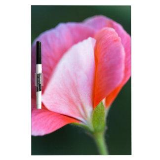 geranium in the garden dry erase board