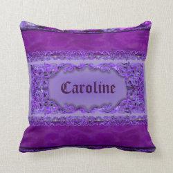 Geranium Personal Customised Pillow