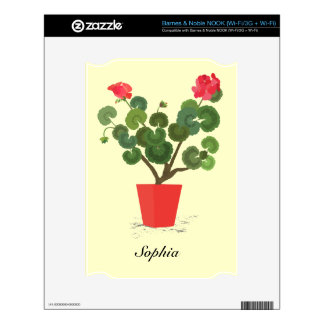 Geranium Plant Barnes and Noble Nook Skin