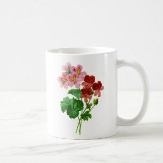 Geranium Variete by Pierre Joseph Redoute Coffee Mug
