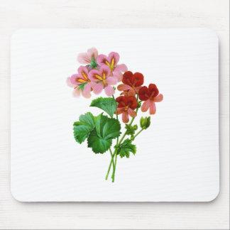 Geranium Variete by Pierre Joseph Redoute Mouse Pad