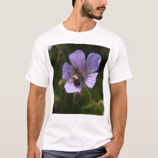 Geranium with Bee T-Shirt