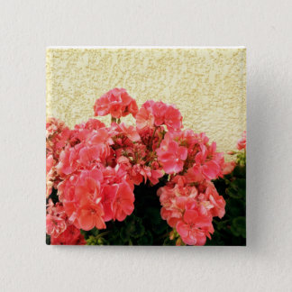 Geraniums Button