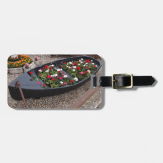 Geraniums In A Boat Bag Tag