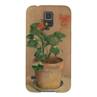 Geraniums in a Pot, c.1905 (oil on canvas) Case For Galaxy S5